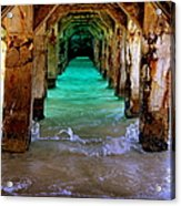 Pillars Of Time Acrylic Print