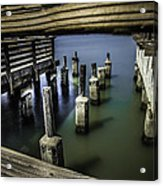 Pillars Over Pier 39 Waters... Acrylic Print