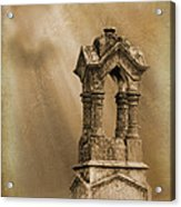 Pillars The Forgotten Series 07 Acrylic Print