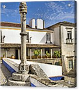 Pillory Of Old World Europe Acrylic Print by David Letts