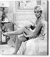 Pillow Talk, Doris Day, 1959 Acrylic Print