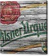 Pilsner Urquell Acrylic Print