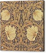 Pimpernel Wallpaper Design Acrylic Print by William Morris