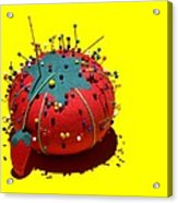 Pin Cushion Acrylic Print