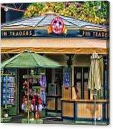 Pin Traders Downtown Disneyland 02 Acrylic Print