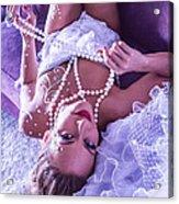 Pin-up Bride Acrylic Print