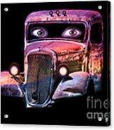 Pin Up Cars - #3 Acrylic Print