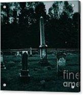 Pine Hill Cemetery Acrylic Print