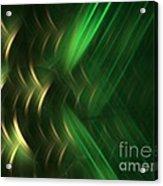 Pine Acrylic Print by Kim Sy Ok