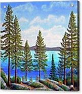 Pine Woods Lake Tahoe Acrylic Print