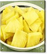 Pineapple Chunks Acrylic Print