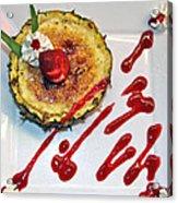Pineapple Creme Brulee Maui Style Acrylic Print