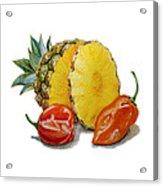 Pineapple Habanero Muy Caliente   Acrylic Print