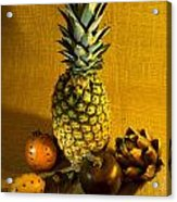 Pineapple Still Life Acrylic Print