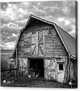 Pinedale Barn Acrylic Print