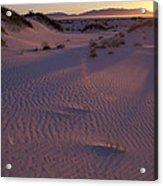 Ping Sand Acrylic Print
