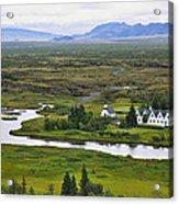 Pingvellir National Park Acrylic Print