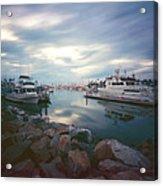Pinhole Oceanside Harbor Acrylic Print
