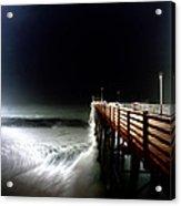 Pinhole Oceanside Pier Acrylic Print