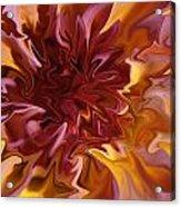 Pink And Yellow Fantasy 1 Acrylic Print