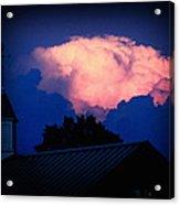 Pink Cloud Over Lexington Acrylic Print