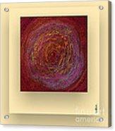 Pink Color Sand Acrylic Print