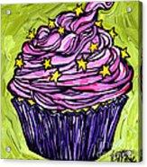 Pink Cupcake Acrylic Print