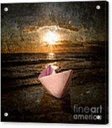 Pink Dreams Acrylic Print by Stelios Kleanthous