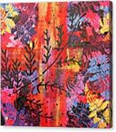 Pink Fern Acrylic Print