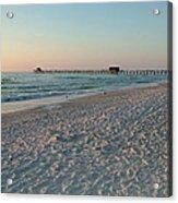 Pink Florida Sands Acrylic Print