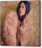 Pink Fru Fru  Acrylic Print