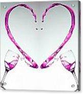 Pink Heart Acrylic Print