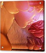 Pink Lady Acrylic Print by Etti PALITZ