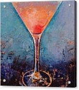 Pink Lemonade Martini Acrylic Print