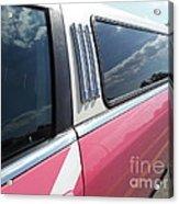 Pink Limousine Acrylic Print