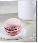 Pink Macaroon Acrylic Print