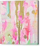 Pink N Glam Acrylic Print