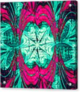 Pink Overlay Acrylic Print