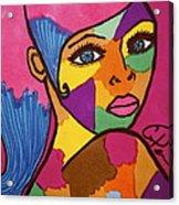 Pink Penny Acrylic Print