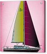 Pink Retru Acrylic Print
