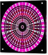 Pink Rings II Acrylic Print