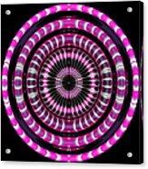 Pink Rings Acrylic Print
