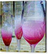 Pink Summer Acrylic Print by Ben and Raisa Gertsberg