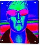 Pink Sunglasses Acrylic Print