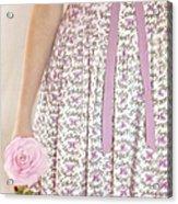 Pink Sweetness Acrylic Print