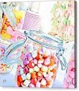 Pink Sweets Acrylic Print