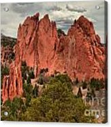 Pink Towers Of The Gods Acrylic Print