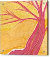 Pink Tree By Jrr Acrylic Print