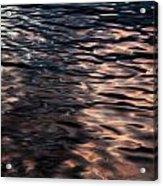 Pink Water 01 Acrylic Print by Grebo Gray