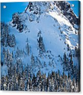 Pinnacle Peak Winter Glory Acrylic Print